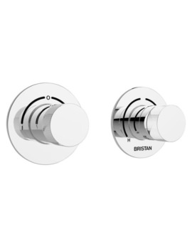 Bristan Orb Recessed Thermostatic 2 Control Shower Valve With Diverter