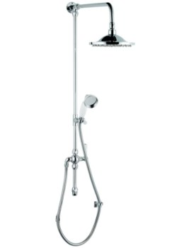Lauren Grand Shower Rigid Riser With Handset And Head