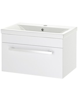 Lauren Eden 600mm Wall Hung Basin Cabinet