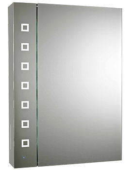 Enigma 500mm Touch Sensor LED Mirror Cabinet