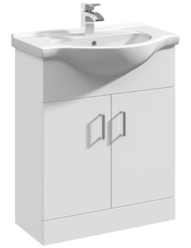 Mayford 650mm Floor Standing Cabinet With Basin