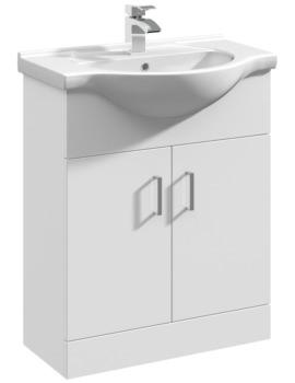 Delaware 650mm 2 Door Furniture Vanity Cabinet