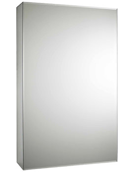Intrigue 460mm Slide Opening 1 Door Mirror Cabinet