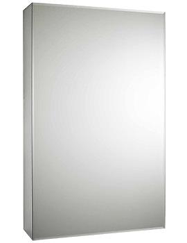 Intrigue 460mm Slide Opening 1 Door Mirror Cabinet