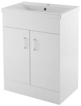 Eden 600mm 2 Door Floor Standing Basin Cabinet