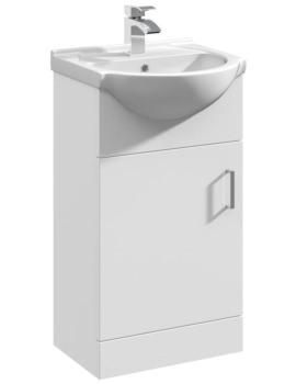 Delaware 450mm Single Door Furniture Vanity Cabinet