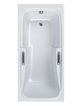 Carron Standard 5mm Acrylic Shower Bath 1700 x 800mm