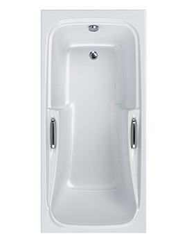 Standard 5mm Acrylic Shower Bath 1700 x 800mm