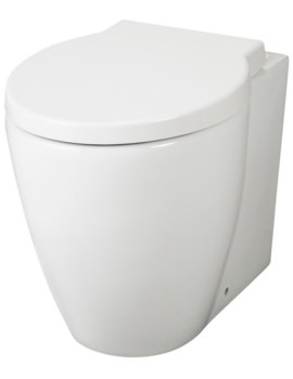 Unity 2 Back To Wall WC Pan With Cistern And Seat