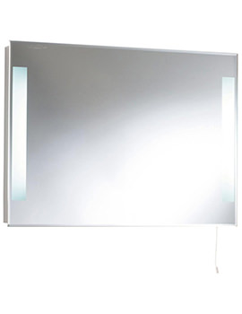 Adela 700 x 500mm Backlit Mirror With Light