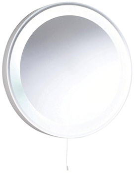 Verdi 550mm Round Backlit Mirror With Light