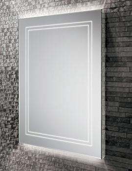 Outline 50 Portrait LED Ambient Mirror 500 x 700mm