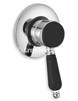 Victoria Nero Concealed Manual Shower Valve