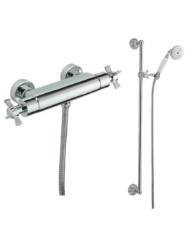 Imperial Exposed Thermostatic Shower Valve With Slide Rail Kit