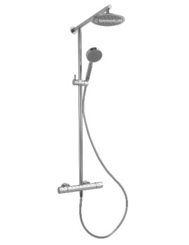 Orso Cool Touch Exposed Thermostatic Shower Valve With Kit