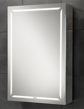 Groove 50 LED Demisting Bluetooth Mirror Cabinet 500 x 700mm