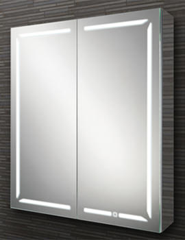 Groove 60 LED Demisting 600mm Wide Bluetooth Mirror Cabinet
