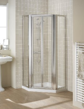 Classic Pentagon Side Panels With Bi-fold Or Pivot Door Option