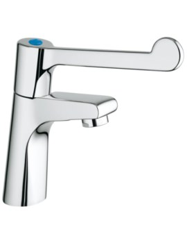 Hospita Chrome Sink Pillar Tap With Mousseur