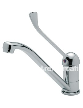 Luna Extended Lever Mono Kitchen Sink Mixer Tap