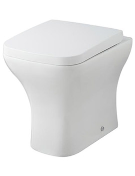 Lauren Carmela Back-To-Wall WC Pan 490mm And Seat