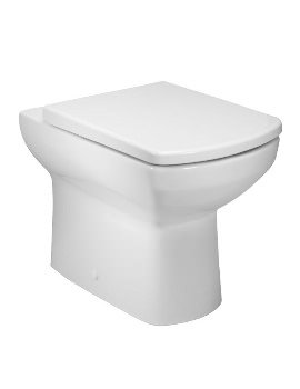 Vibe Back To Wall WC Pan With Soft Close Seat