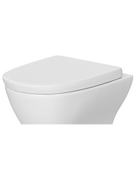 Lauren Saffron Soft Close Toilet Seat And Cover