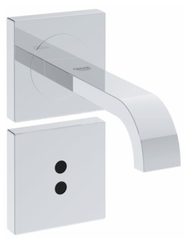Allure E Wall Mounted Infra-Red Electronic Basin Mixer Tap