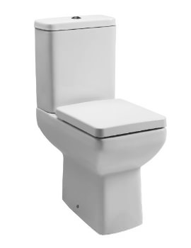 Q60 Comfort Height Closed Coupled WC With Cistern And Seat