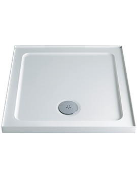 Twyford 800 x 800mm Upstand Square Shower Tray
