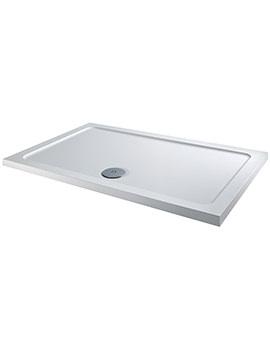 Twyford 1500 x 800mm Flat Top Rectangular Shower Tray