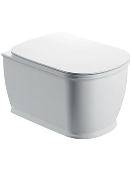 Pura Imex Liberty Wall Hung WC Bowl And Slow Close Seat 520mm