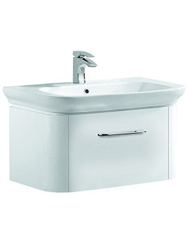 Pura Imex Grace 800mm Wall Hung Drawer Unit And Basin