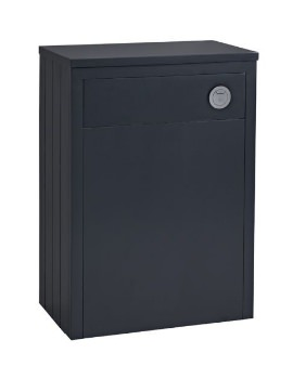 Tavistock Lansdown Matt Dark Grey 600mm Back To Wall WC Unit