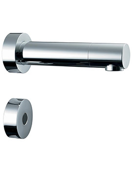 Sensorflow 21 Wall Spout 150mm Separate Sensor - Battery