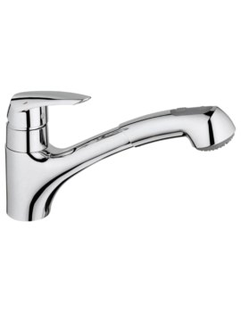 Grohe Eurodisc Single Lever Kitchen Sink Mixer Tap - 32257001