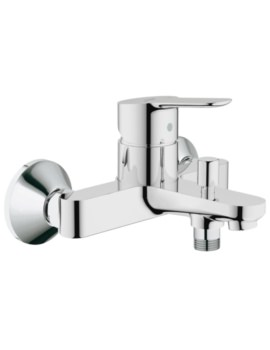 BauEdge Single Lever Half Inch Bath Shower Mixer Tap