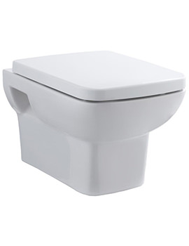 Lauren Ambrose Wall Hung WC Pan 525mm And Seat