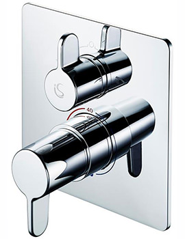 Freedom Built-In Thermostatic Shower Mixer Valve With Diverter