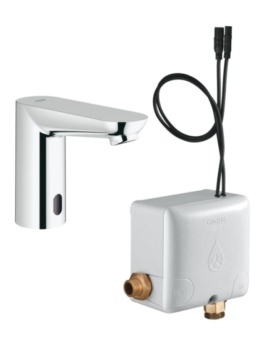 Euroeco Half Inch Infra-Red Electronic Basin Tap With CE Powerbox