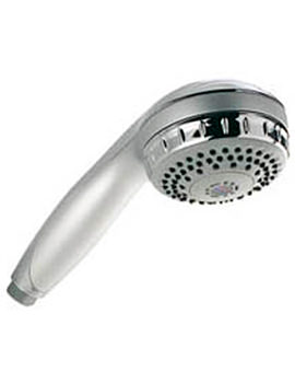 Varispray White And Chrome Shower Handset