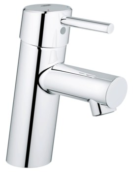 Concetto S-Size Single Hole Basin Mixer Tap