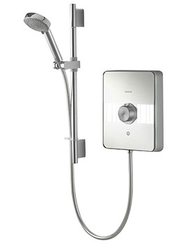 Aqualisa Lumi Chrome Electric Shower 9.5kW