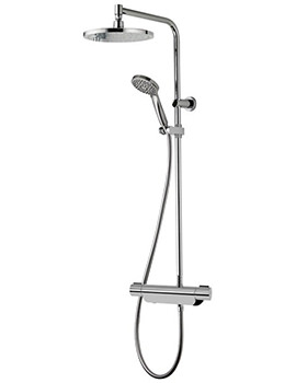 Aqualisa Midas 220 Bar Mixer Shower With Slide Rail Kit