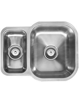 Etroduo 589-450U REV 1.5 Bowl Undermount Sink
