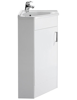 Mayford 555mm Single Door Corner Cabinet And Basin