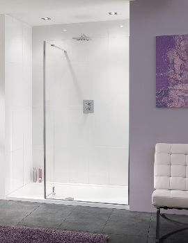 Lakes Coastline Nice 10mm Walk-In Shower Screen 1000mm