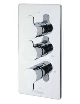 Lollipop Concealed Thermostatic Shower Valve With 3 Way Diverter