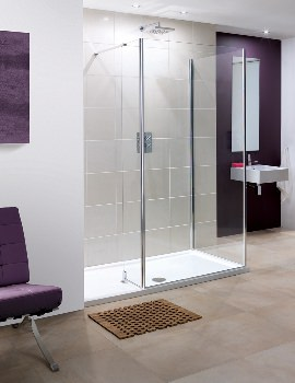 Coastline Andora or Rhodes Walk-In Shower Panel 700 x 2000mm