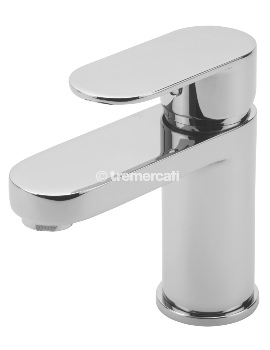 Geco Mono Basin Mixer Tap With Click Clack Waste